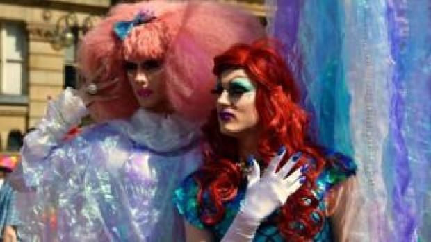 Pride festivalgoers