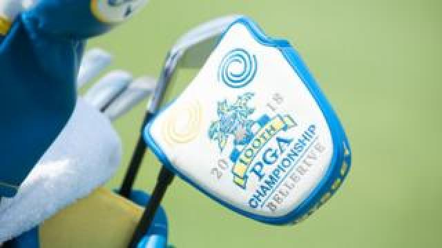PGA Championship branded golf clubs