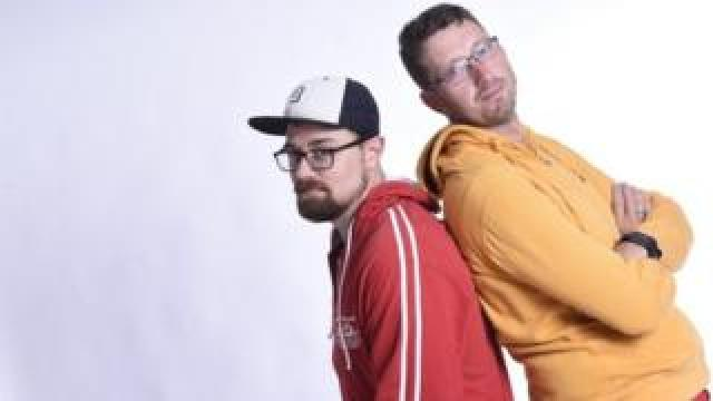 Picture of Taylor Host and Jamie Wilde, co-founders of startup Miro