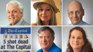 Victims of shooting at Capital Gazette in Annapolis