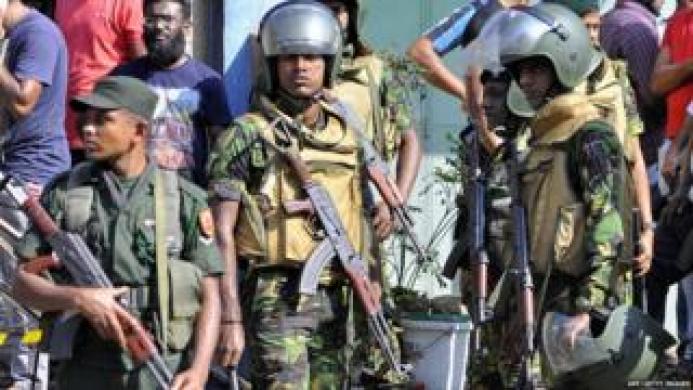 श्रीलंका में आपातकाल