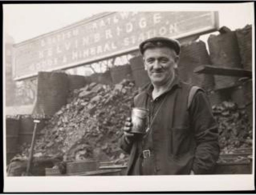 Teabreak Ramsay Ladder Depot Kelvinbridge, 1961