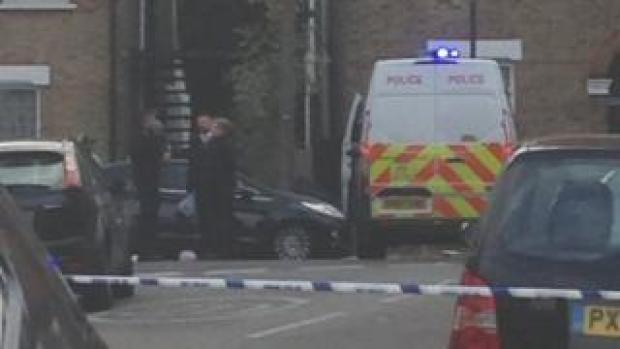 Bromley stab scene