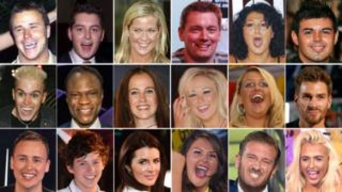The British winners of Big Brother