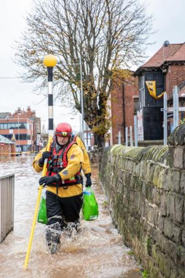 Flooding in Worksop