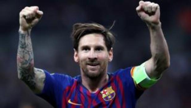يعتبر ميسي الهداف التاريخي لبرشلونة