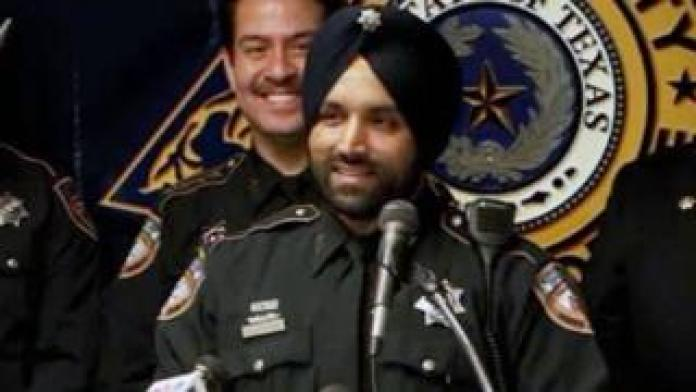 Sandeep Dhaliwal is seen in an image shared by Harris County Sheriff's Office