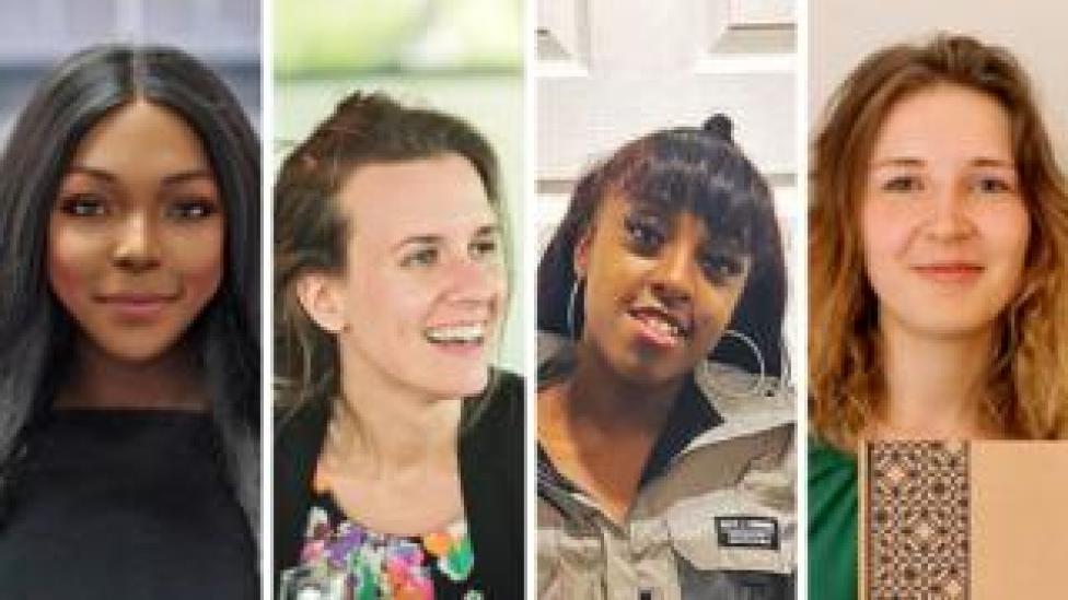 أربع نساء