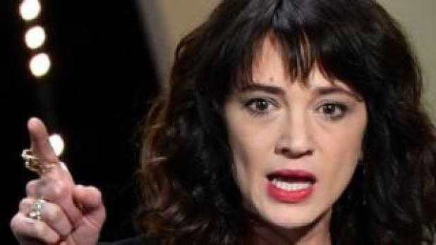 Italian actress Asia Argento, 19 May 2018