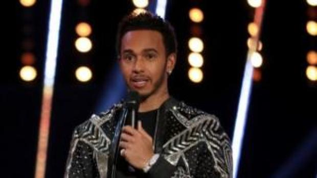 "Lewis Hamilton seemed to refer to Stevenage as ""the slums"" on stage at the BBC Sports Personality of the Year Awards"