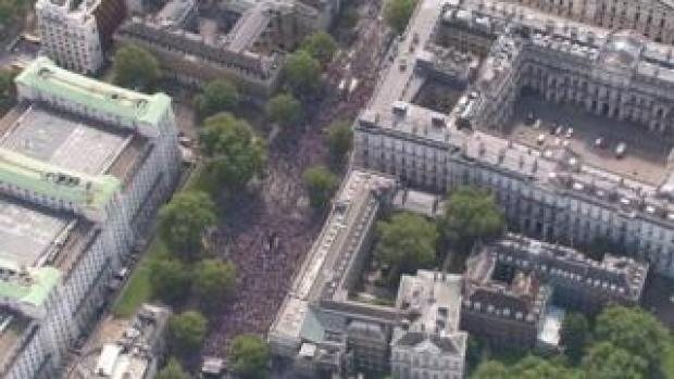 Aerial pic of Parliament