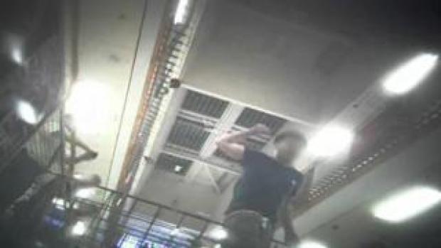 Covert footage was filmed inside Brook House, near Gatwick Airport