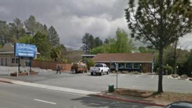 An outside shot of Mama Celeste's restaurant