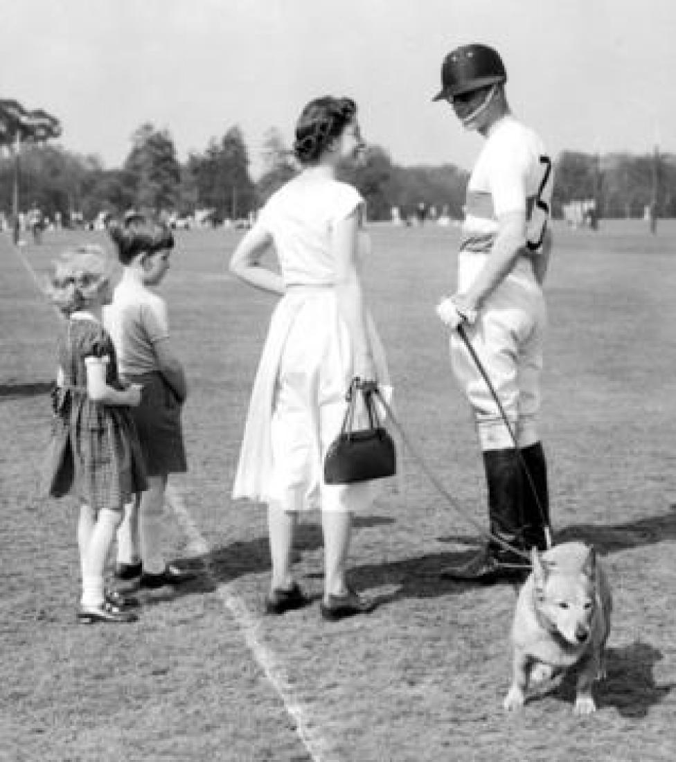 Королева Елизавета и принц Филипп, 1956 год