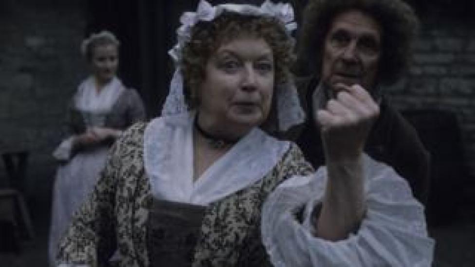 June Whitfield in Tom Jones