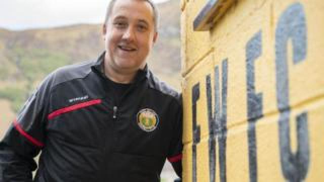 Russell MacMorran Fort William Football Club Manager