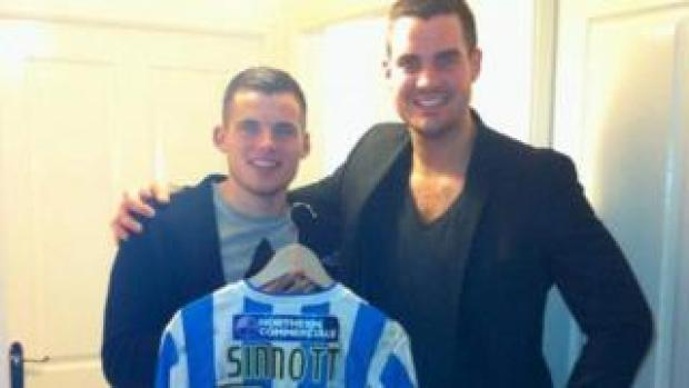 Jordan Sinnott with his brother Tom