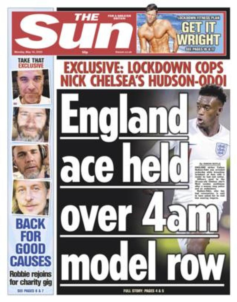The Sun 18 May 2020