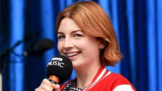 ALice Levine presenting for BBC Radio 1