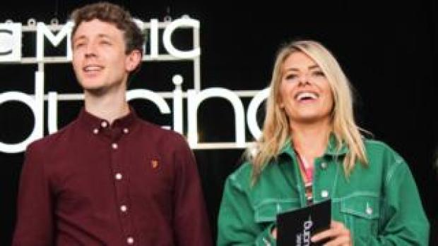 Matt Edmondson and Mollie King