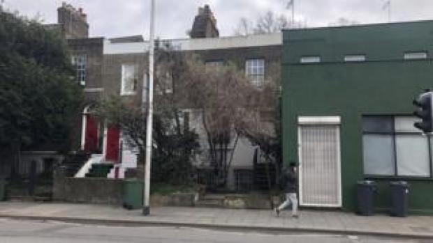 Khadambi Asalache's house - seen from the street