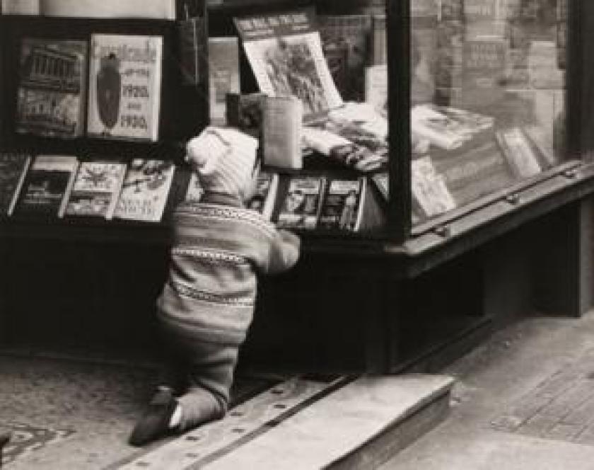 John Smith's Book Shop, St Vincent Street, Glasgow, 1962