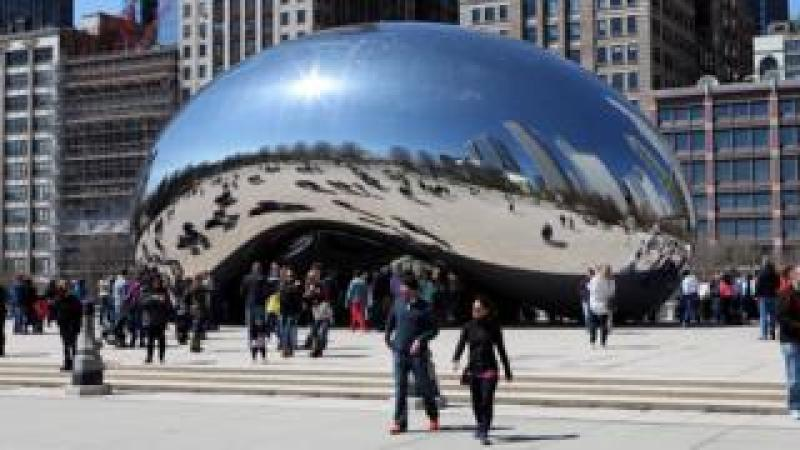 Anish Kapoor's Cloud Gate in Chicago