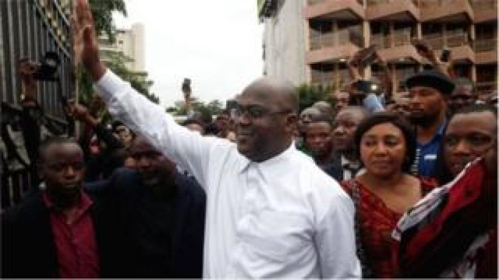 Félix Tshisekedi dirige le plus grand parti de l'opposition congolaise, fondé en 1982 par son défunt père.