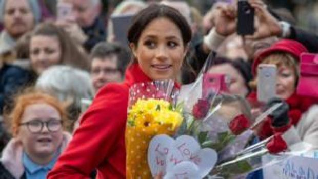 Meghan on a walkabout