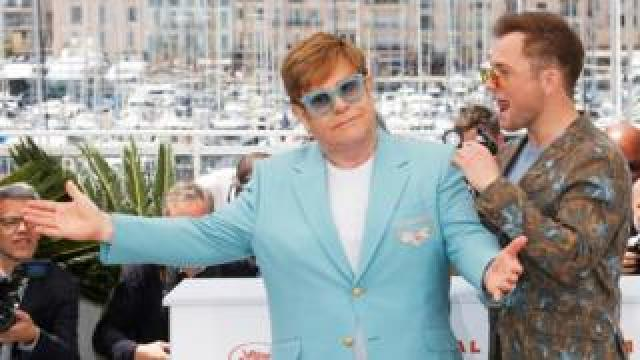Photocall for the film Rocketman in Cannes