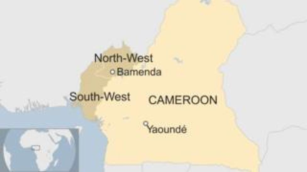 Card with Cameroon