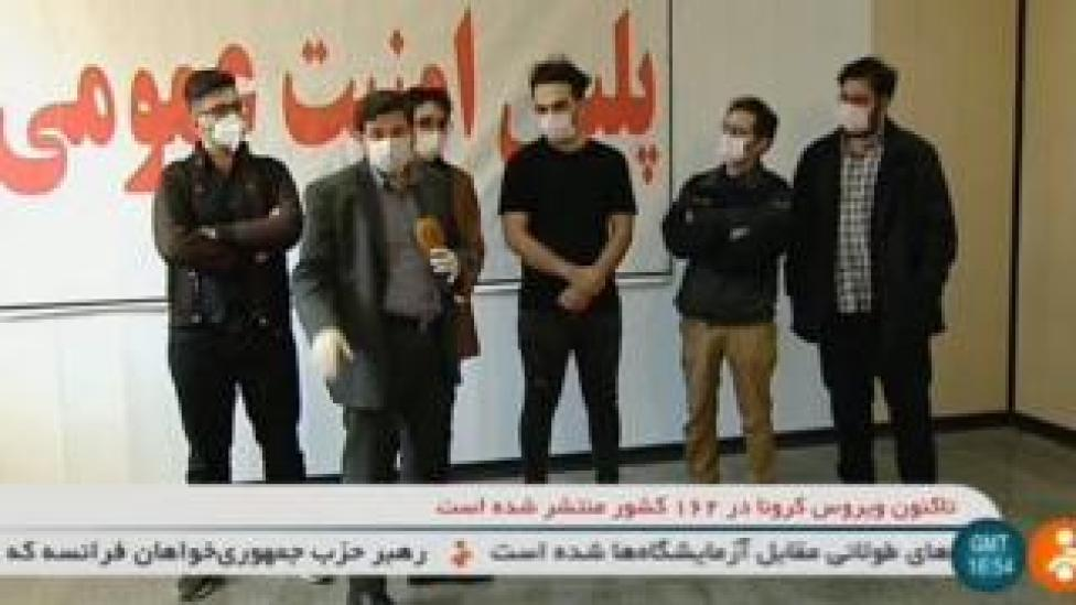 Iranian state TV reporter speaks to students arrested over aubergine videos