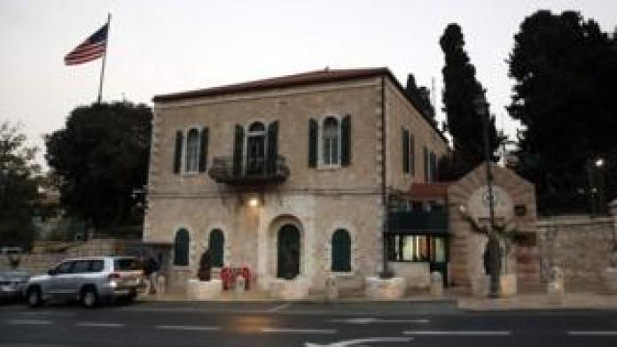 US consulate general in Jerusalem (18 October 2018)