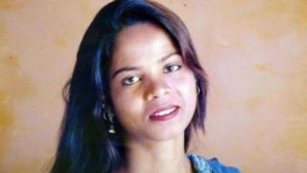 Asia Bibi, in an undated handout photo