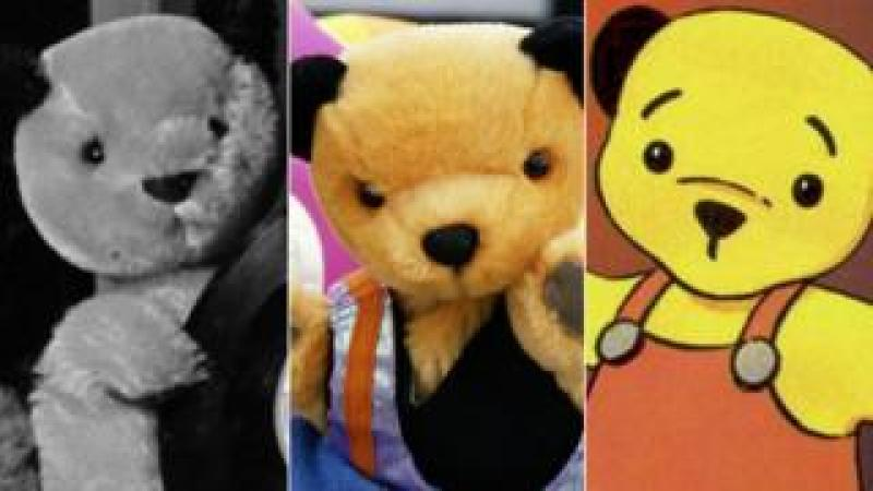 Sooty in 1961, 1995 and 1997