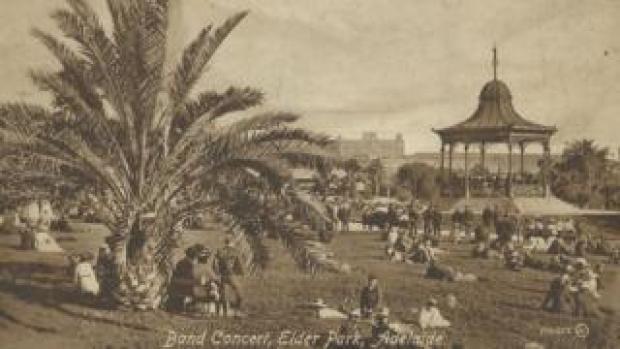 Adelaide bandstand