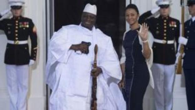 Jammeh vit en exil en Guinée équatoriale.