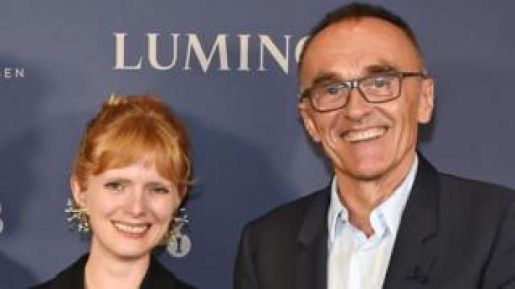 Danny Boyle with Rose Glass