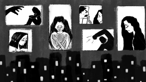 صورة لنساء بالأبيض والأسود