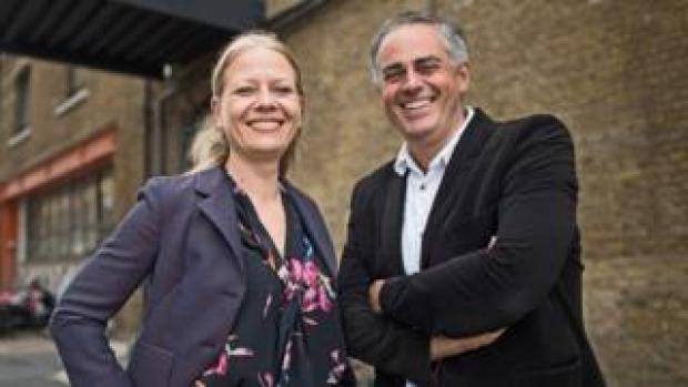 Current leadership team Sian Berry and Jonathan Bartley