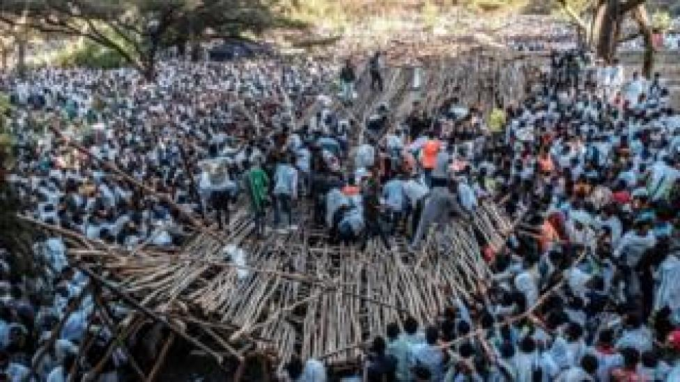 Stand collapse in Ethiopia