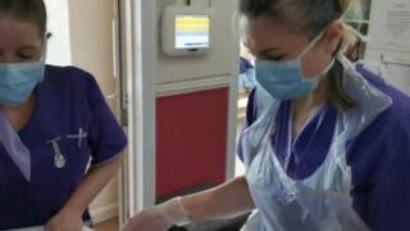 Carers in PPE
