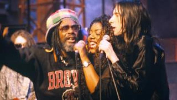 George Clinton, Denise Johnson and Primal Scream's Bobby Gillespie