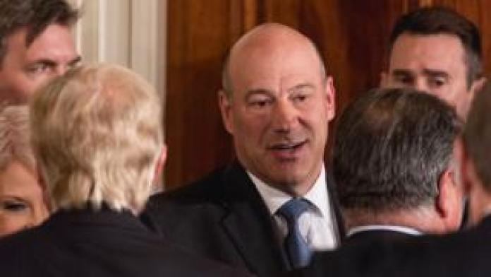 Gary Cohn, chief adviser to US President Donald Trump from 2017 to 2018