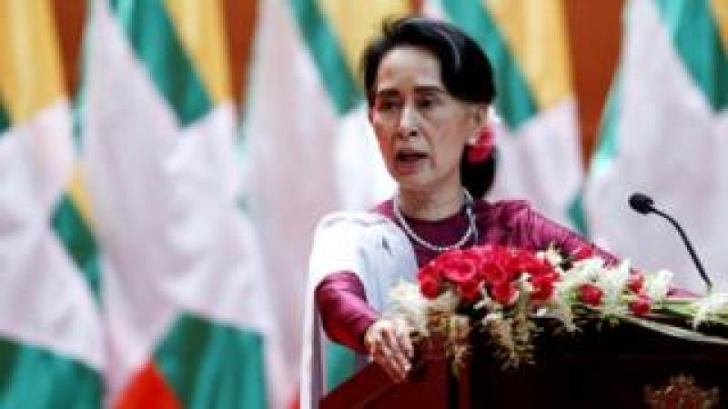Aung San Suu Kyi. File photo