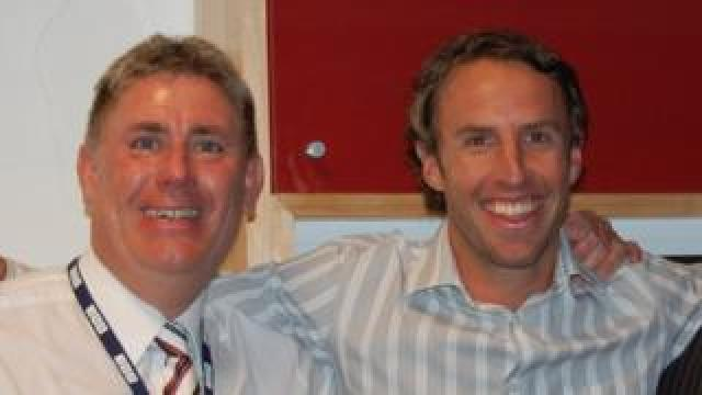 Ali and Gareth Southgate