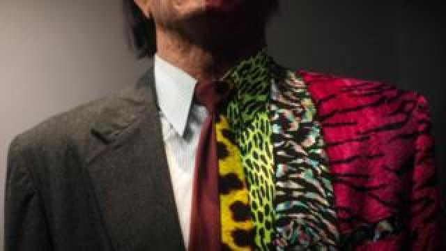 Two-Face costume from Batman on display