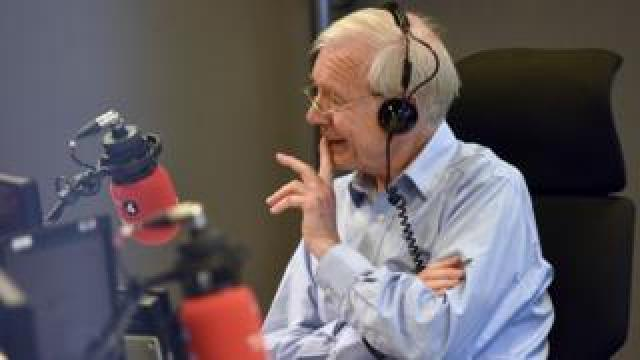 John Humphrys presenting Today