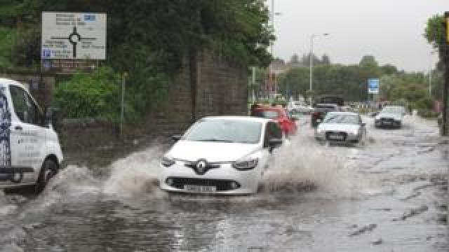 Flooding in St Andrews