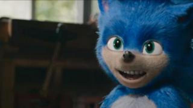 Sonic the Hedgehog's teeth seen in the film's trailer
